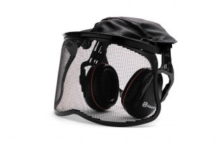 Premium Earmuffs with Mesh Visor